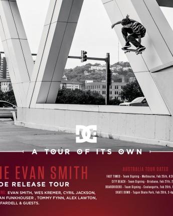 DC: A TOUR OF ITS OWN AUSTRALIA