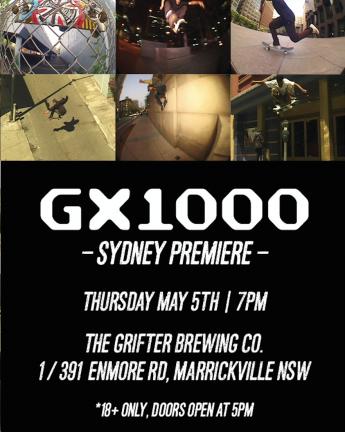 GX1000 | SYDNEY PREMIERE