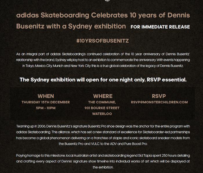 save off 118a3 09e23 Adidas · Dennis Busenitz