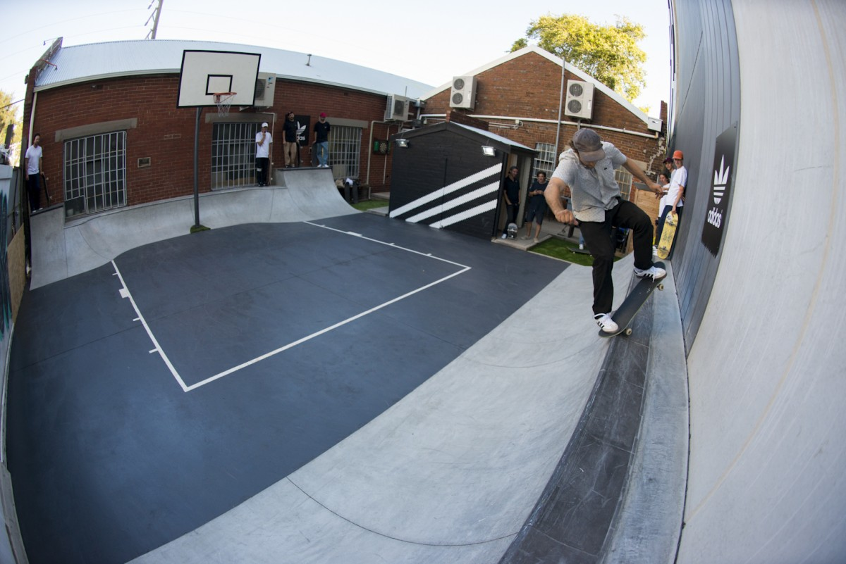 Adidas Australia's new private playground - Sampled by the Adi-Oz crew...