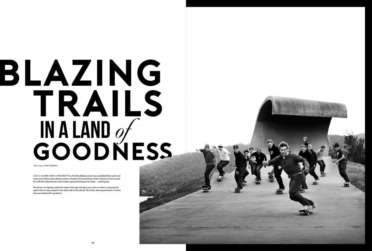 BLAZING TRAILS IN A LAND OF GOODNESS - New Balance in Australia [ISSUE#35]