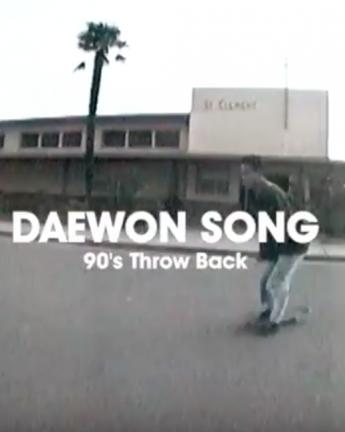 DAEWON SONG: 90's THROW BACK…