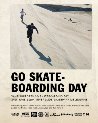 GO SKATEBOARDING DAY | VANS