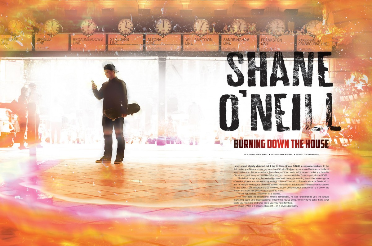 Shane O'neill Interview | Issue #34 [2015] - Social media, filming for 'Goes' & 'throw aways'...