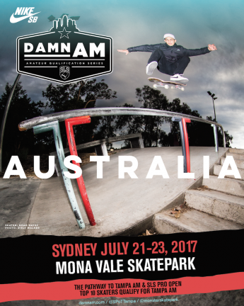 Damn Am is coming to Australia!
