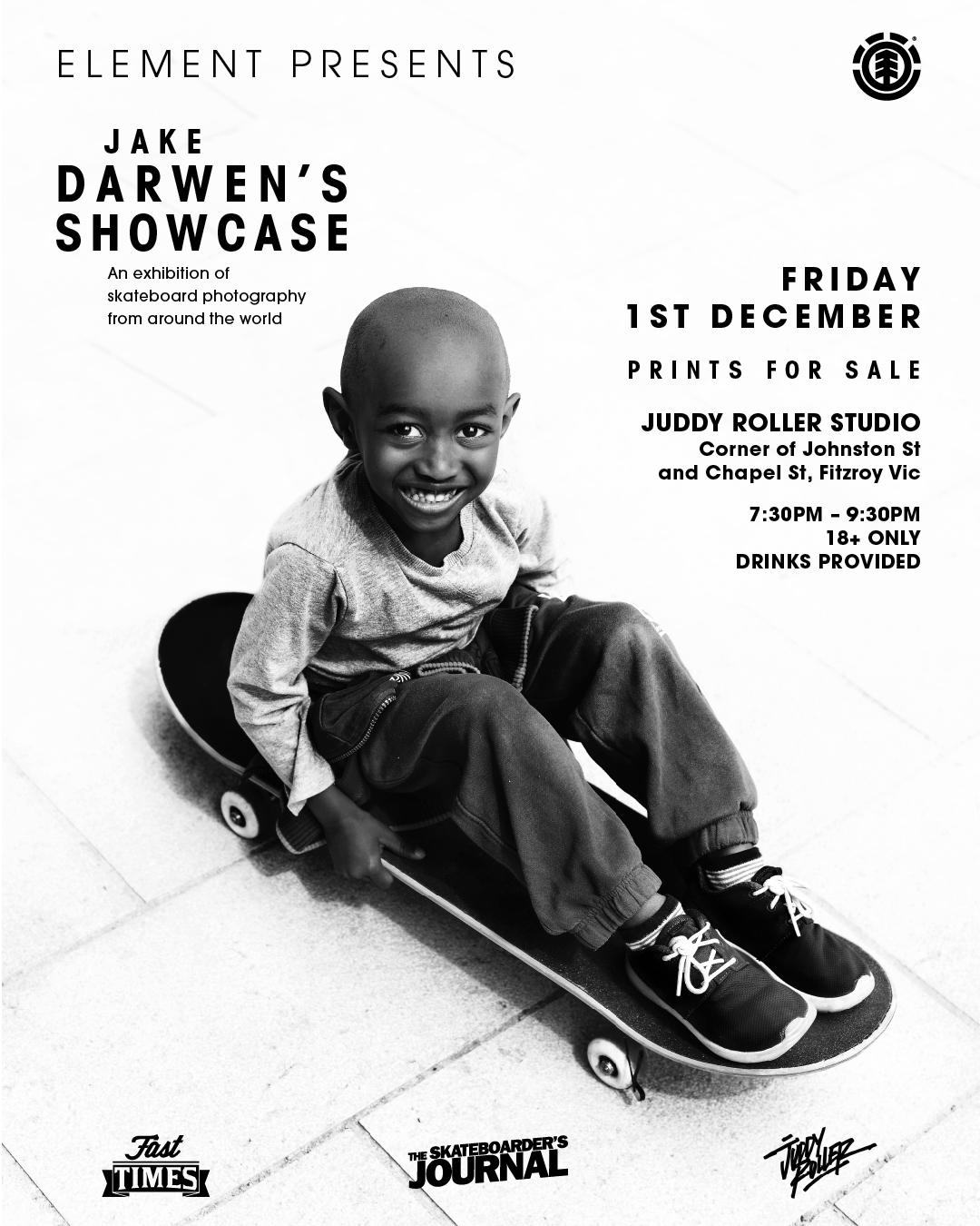 Jake Darwen Exhibition - December 1st | Save the date!!