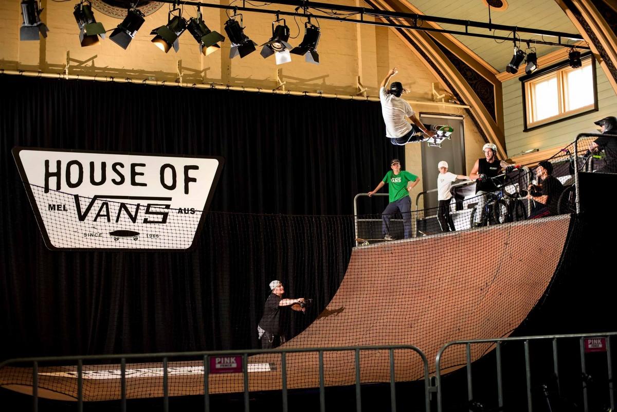 House of Vans | Melbourne - Art, music, skateboarding: All the good stuff under one roof...
