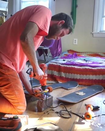 Building Frankenstein Boards With Orange Man