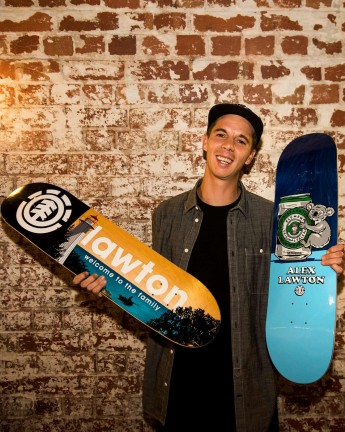 ALEX LAWTON IS PRO FOR ELEMENT!