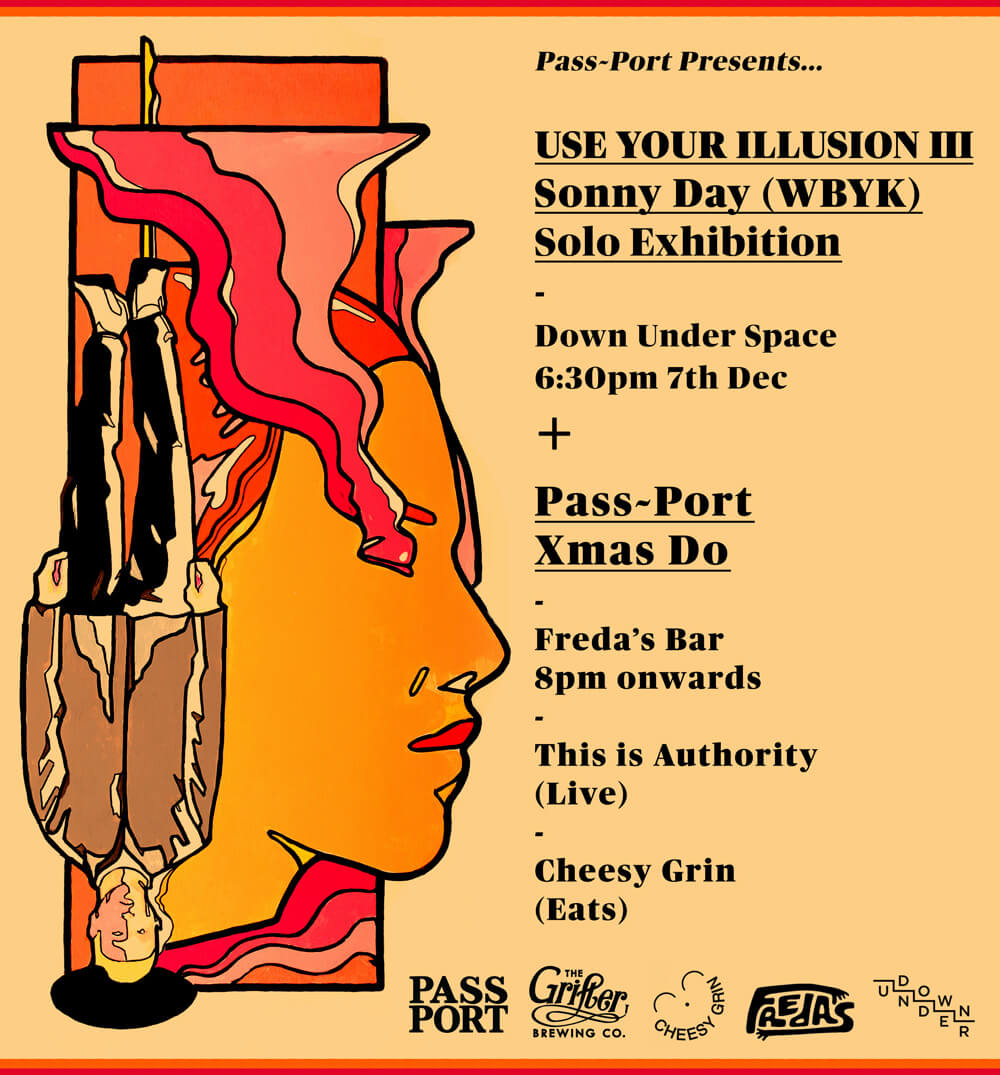 Use You Illusion III Exhibition - Christmas celebrations with Pass~Port!
