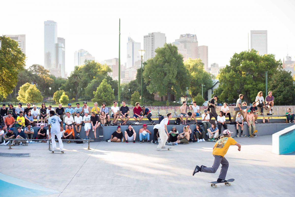 Lewis Marnell Memorial Skate Jam - Full house for Lewie...!!!