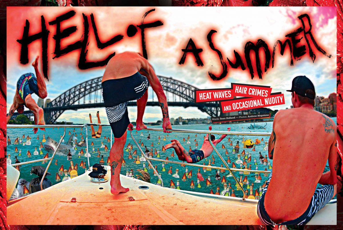 VOLCOM – HELL OF A SUMMER - The article!! From issue #38...