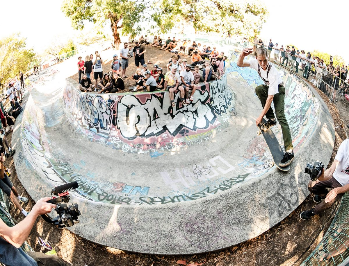 WEST HOBART BOWL JAM | 2018 - The 16th annual celebration of a skate-terrain relic....