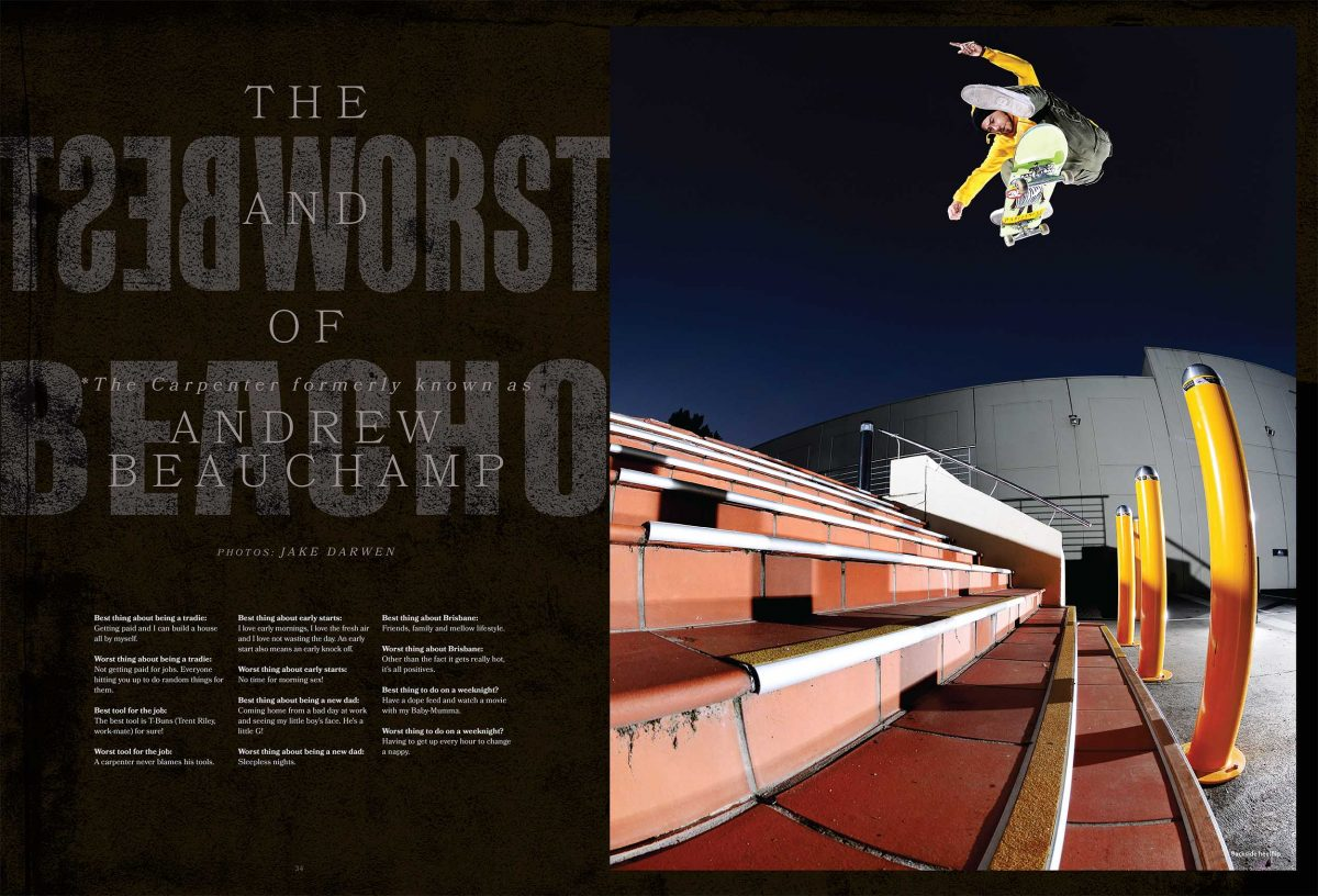 The Best and Worst of Andrew Beauchamp - From issue #38...