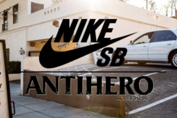 ANTI HERO x NIKE SB