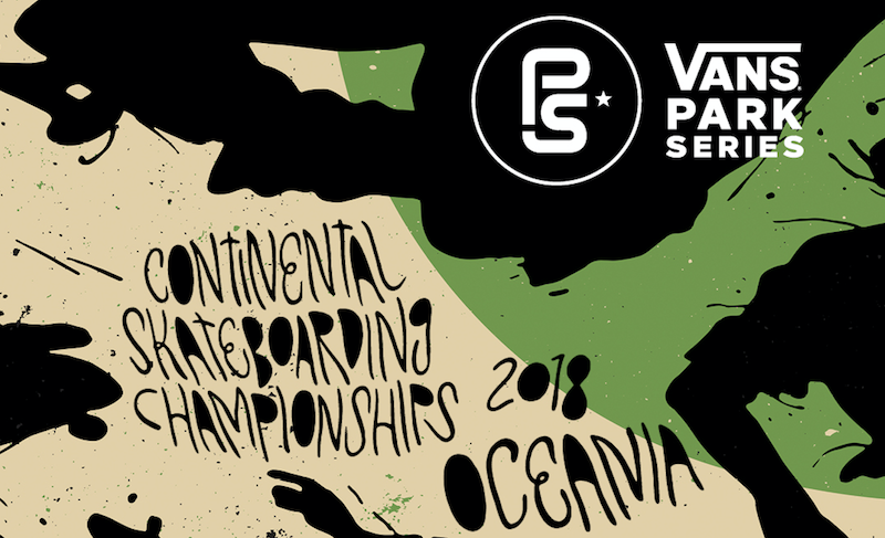 VANS PARK SERIES – Oceania Continental Championships 2018 - 29th APRIL - FIVE DOCK - SYDNEY