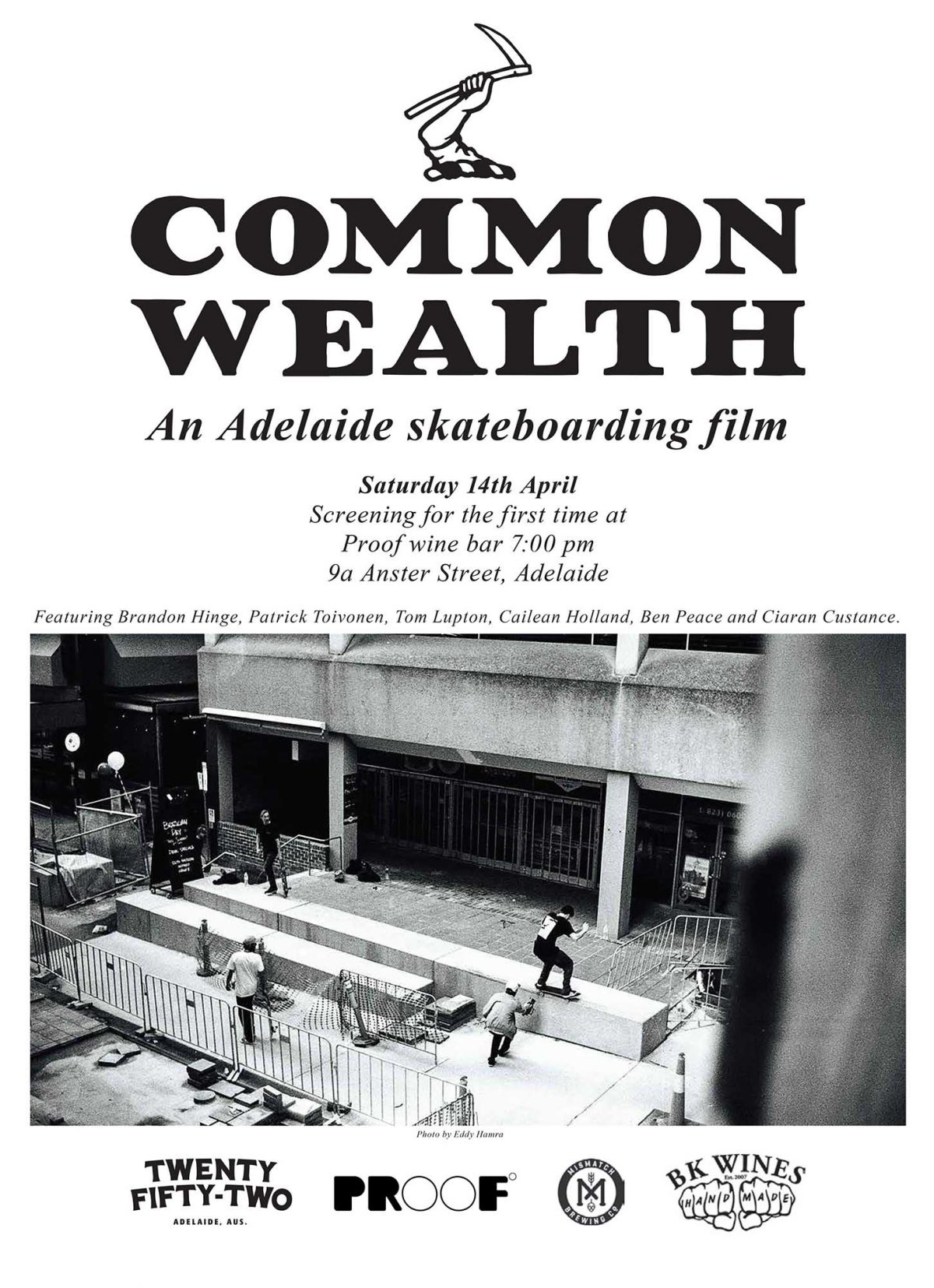 Common Wealth - Adelaide video premiere... This Saturday!!