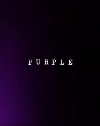 """Purple"" | Converse Cons"