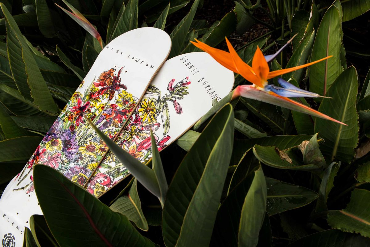 IN BLOOM: Element x Callum Donoghue - Product testing with Dennis Durrant and Alex Lawton