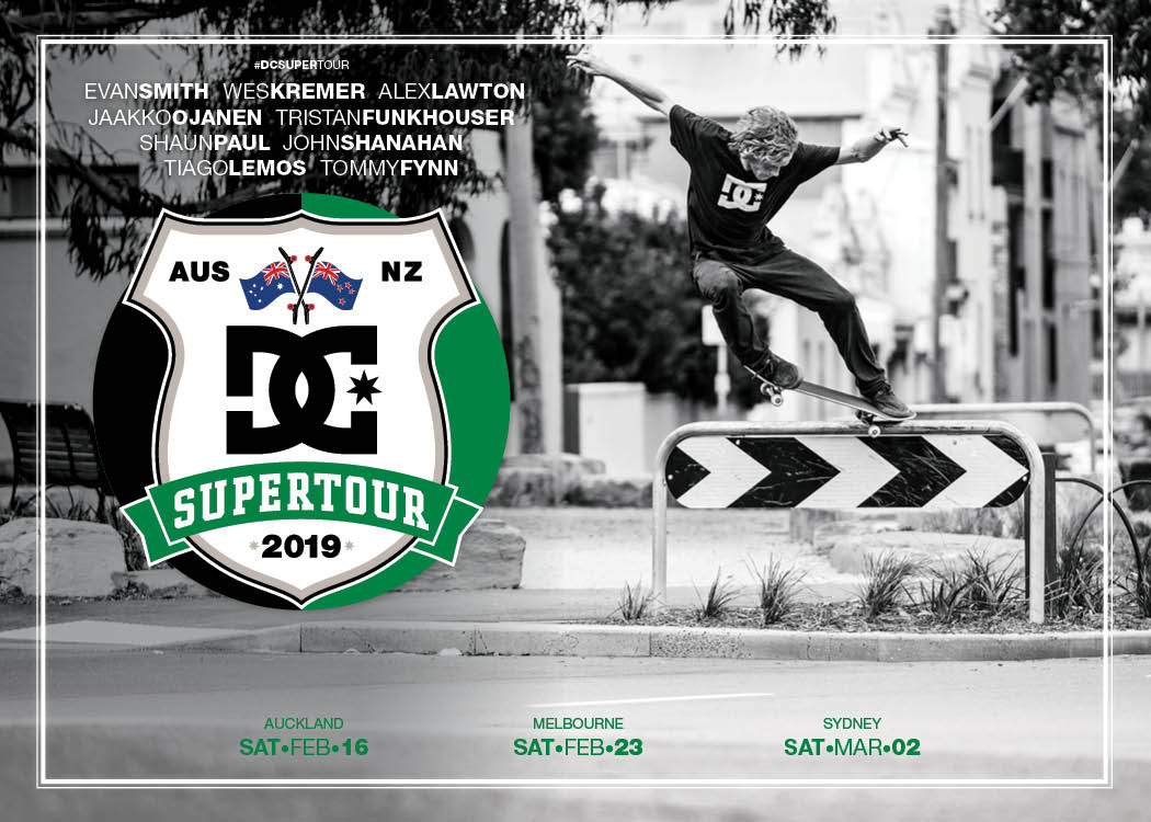 THE DC SUPER TOUR IS BACK!!! - ...And its headed to Australia and New Zealand
