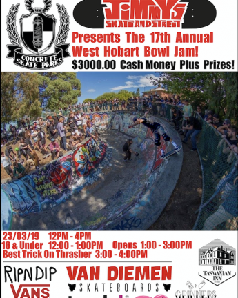 WEST HOBART BOWL JAM – 2019
