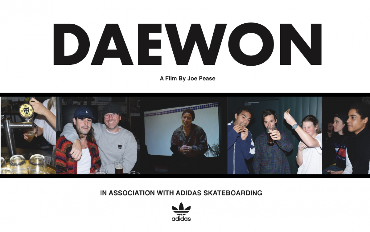 DAEWON: SYDNEY PREMIERE - Hosted by: U.P.S Skateshop