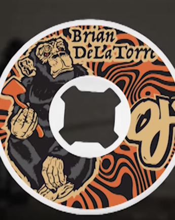 Brian Delatorre's 'OJ Wheels' Part