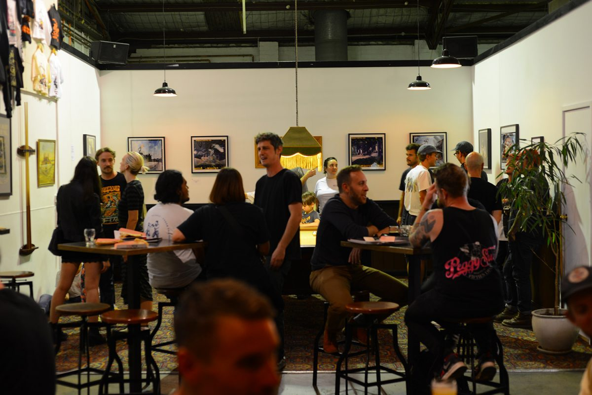 GRIFTERED @ THE GRIFTER BREWING CO. - Dave Chami exhibits his beer soaked photography...