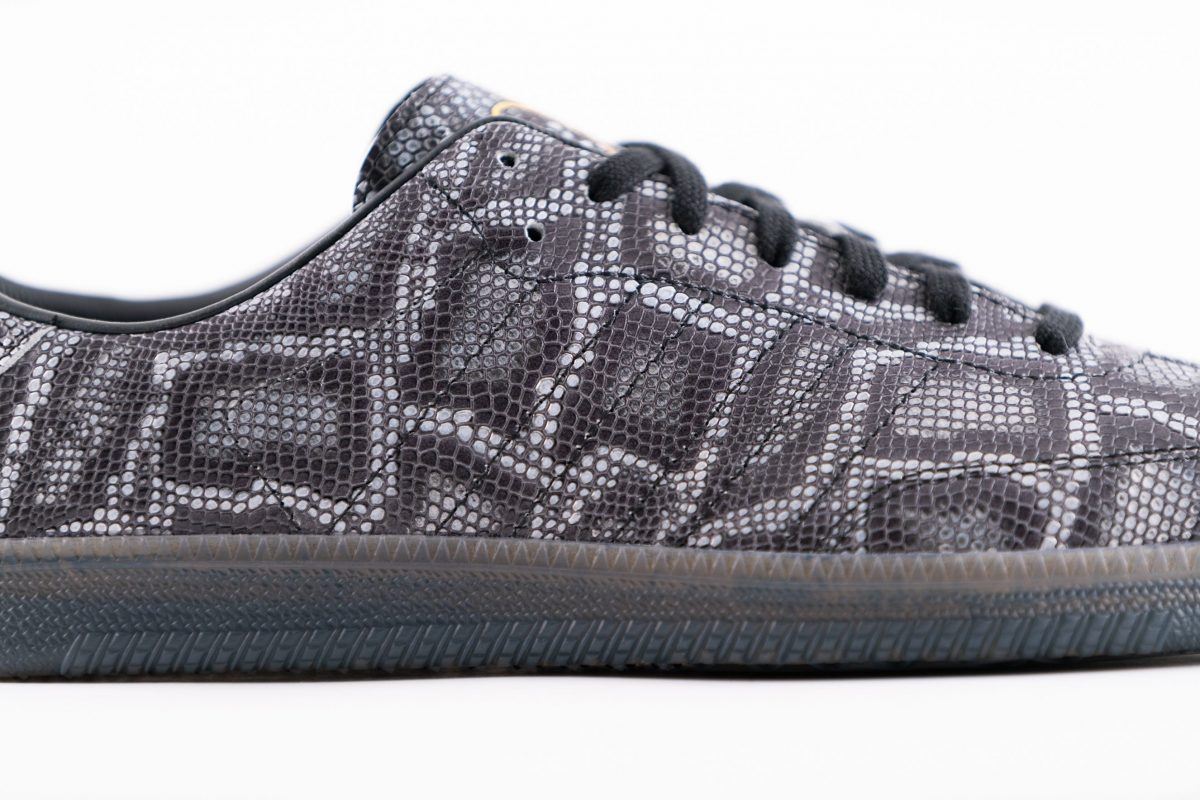ADIDAS x DILL – THE SAMBA DECON - Italian leather SNAKESKIN!!!