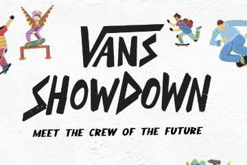 """THE VANS SHOWDOWN"""