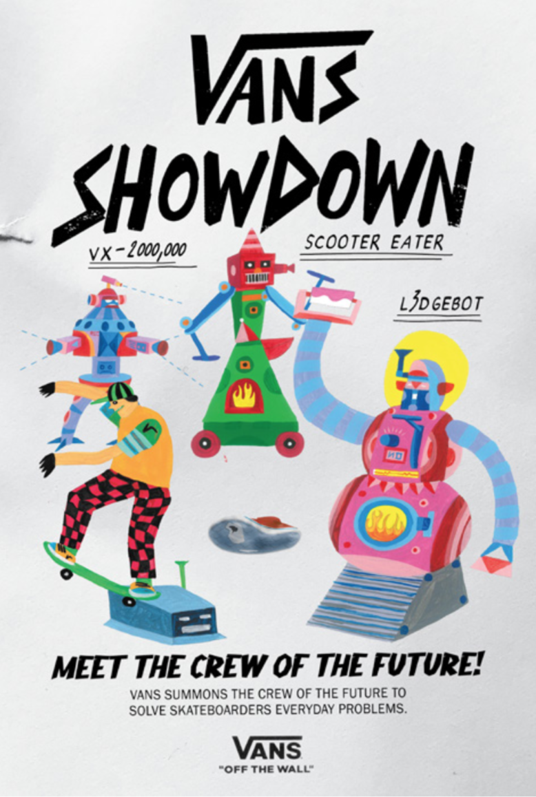 """THE VANS SHOWDOWN"" - Meet the Crew of the future!"