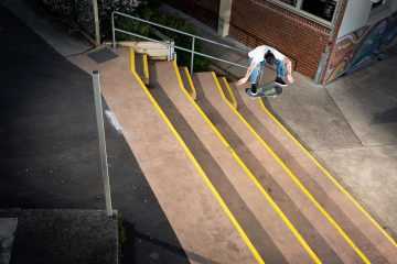 MITCH ROBERTOM: PRO FOR T4 SKATEBOARDS