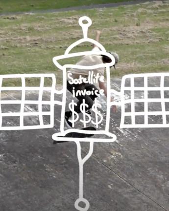 Josh Sabini – Satellite Invoice