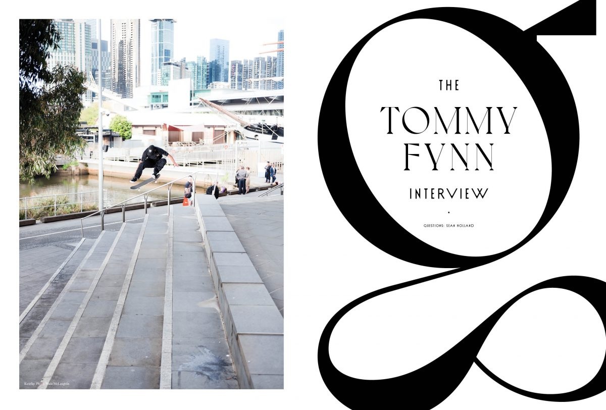 INTERVIEW: TOMMY FYNN - Nothing but heavy hits! [ISSUE #42]