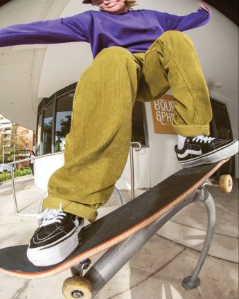 Introducing Vans' Authentic Chino Cord Relaxed Pant