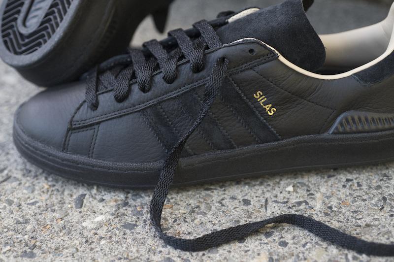 Adidas Campus Adv Shoes - CBlack/CBlack/Stpanu - STM Snow