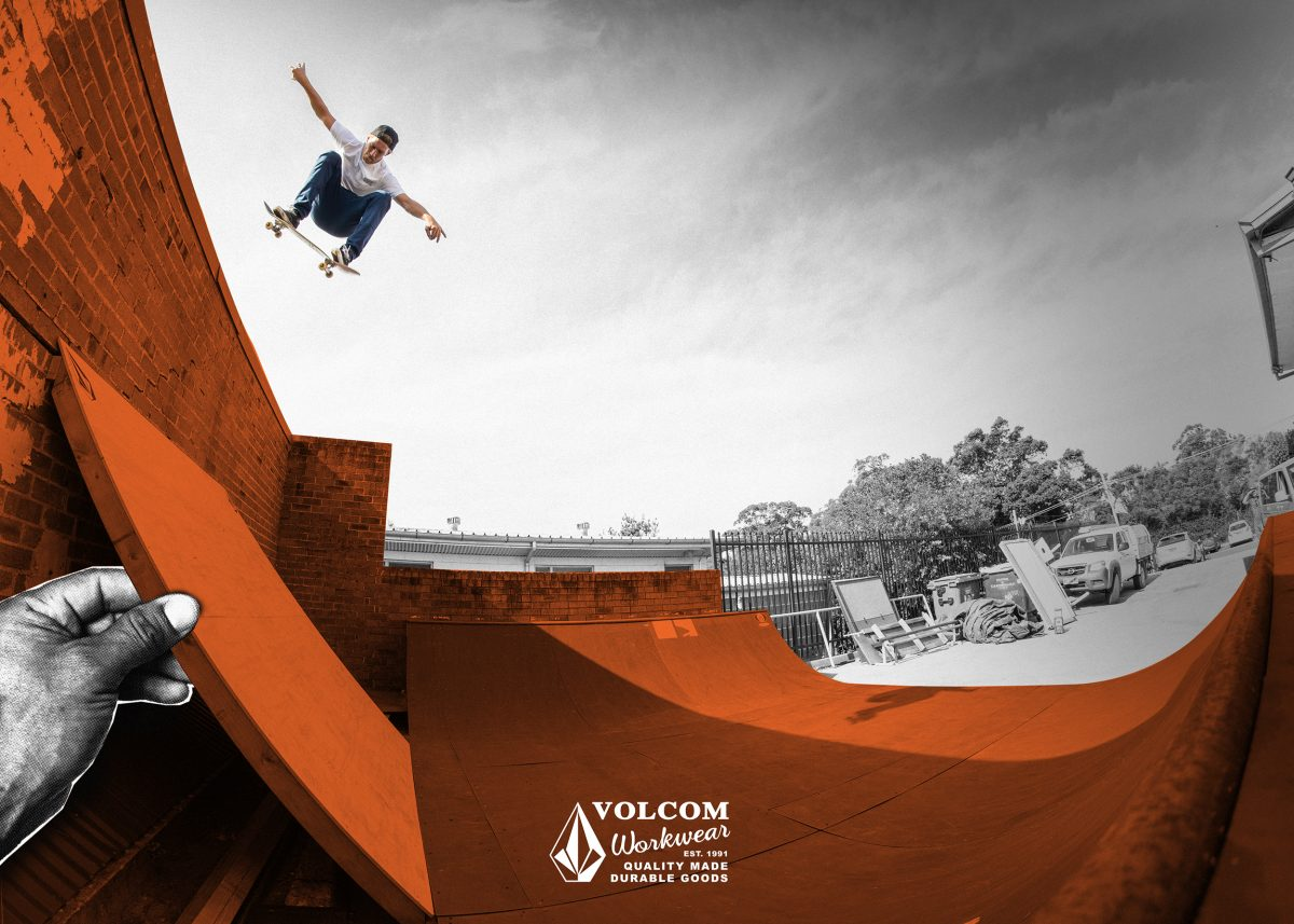 Introducing Volcom Workwear 2021 - 3 decades of concrete-pouring, skatepark-building delivers...