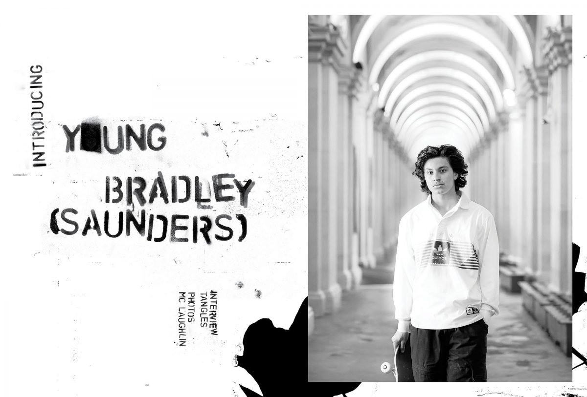 """Y*UNG BRADLEY SAUNDERS [ISSUE #42 INTERVIEW] - """"Ball bags! They heal surprisingly quick…"""""""