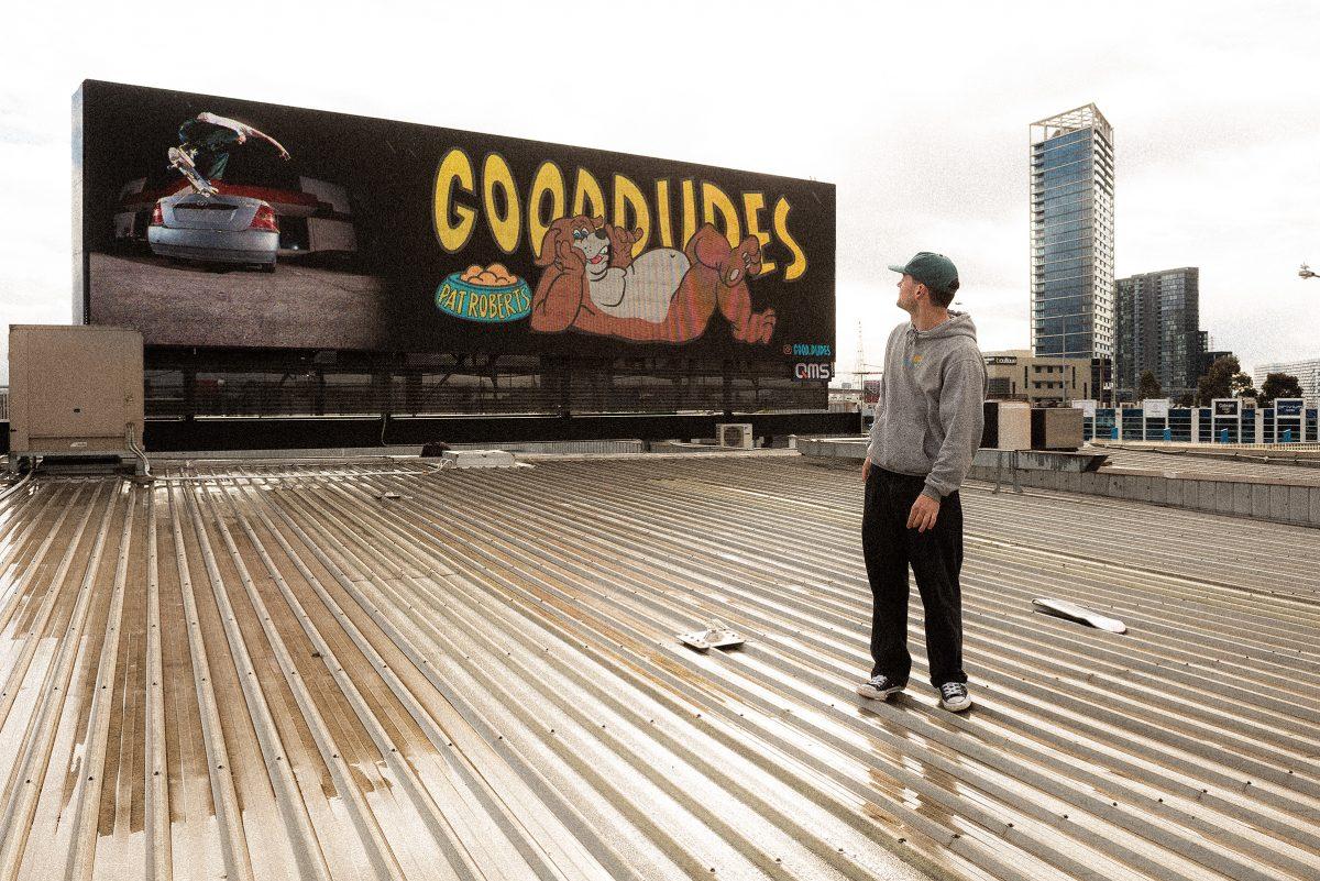 CLOCK-IN: PAT ROBERTS - Bro models, Bondo and billboards...